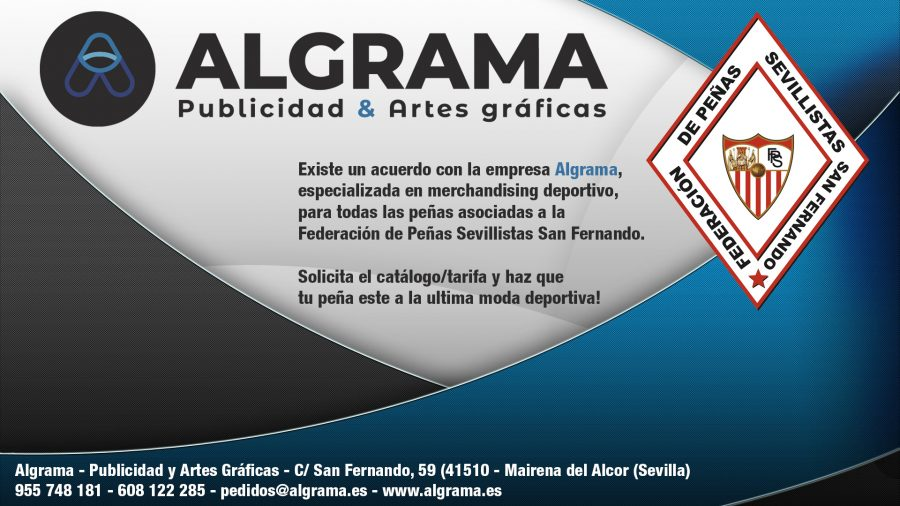 Cartel Algrama