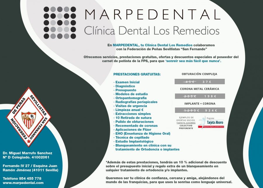 Cartel Marpedental 2020