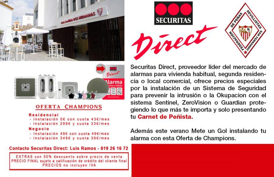 Securitas Direct PEÑISTAS