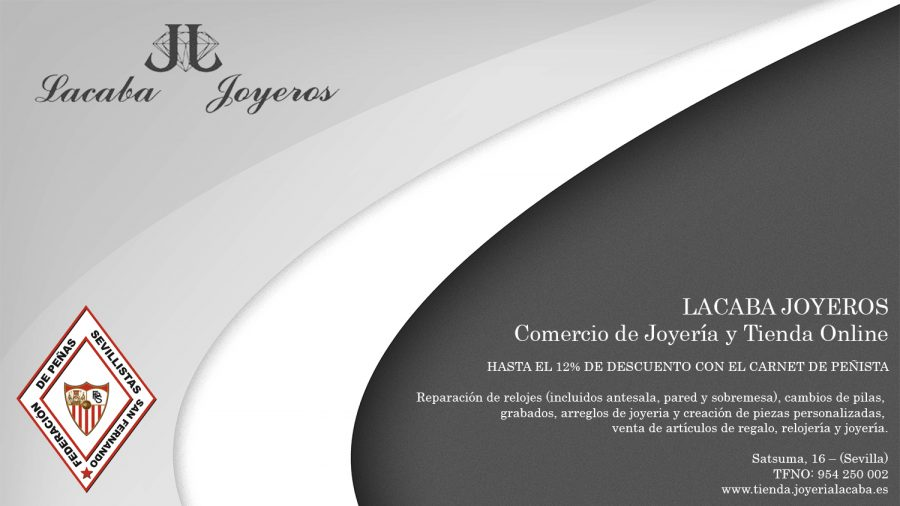 cartel Lacaba Joyeros